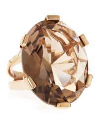 Stephen Dweck | Brown Ovalcut Smoky Quartz Ring 6 | Lyst