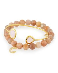 Tai | Pink Set Of Two Bracelets | Lyst