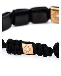 Shamballa Jewels | Black Beaded Bracelet | Lyst