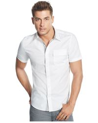 Guess | White Douglas Military Shirt for Men | Lyst