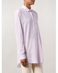 ATM - Purple Boyfriend Shirt - Lyst