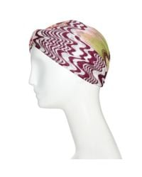 Missoni - Multicolor Crochet-knit Turban - Lyst