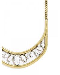 BaubleBar - Metallic Crystal Hera Collar - Lyst
