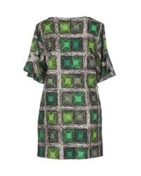 Jo No Fui Green Short Dress