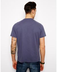 Pepe Jeans | Blue Pepe Tshirt Pete Paint Union Jack Logo for Men | Lyst