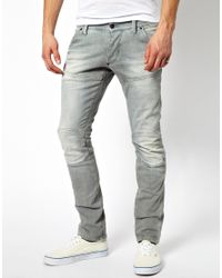 G-Star RAW | Gray Jeans Slim Comfort Force for Men | Lyst