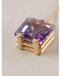 Delfina Delettrez - Purple Fishing For Compliments Earring - Lyst