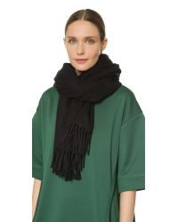 Acne Studios | Black Canada Scarf - Military Green | Lyst