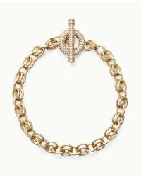 Ann Taylor - Metallic Modern Classic Toggle Necklace - Lyst