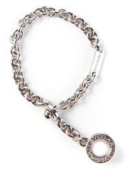 BVLGARI | Metallic Chunky Chain Bracelet | Lyst