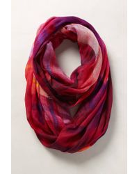 Anthropologie | Purple Painters Plaid Scarf | Lyst