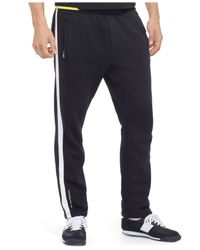 Polo Ralph Lauren | Black Polo Sport Pique Track Pants for Men | Lyst