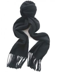 Jules B - Black Classic Cashmere Scarf for Men - Lyst
