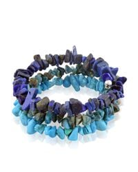 Lord & Taylor | Blue Ombre Mixed Stone Bracelet | Lyst