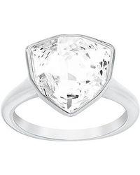 Swarovski Metallic Brief Ring