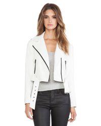 BB Dakota White Luna Jacket