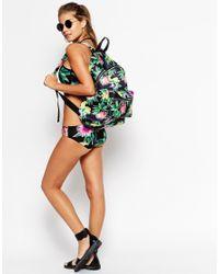 ASOS Multicolor Floral Scuba Backpack