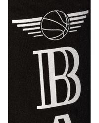 Brian Lichtenberg - Black Ballin-Print Cotton Sweatpants - Lyst