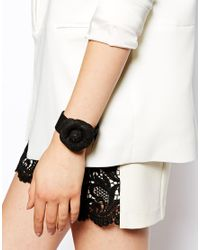 ASOS Black Limited Edition Corsage Bracelet