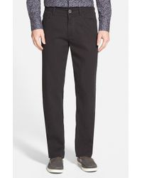 Tommy Bahama | Black 'collins' Straight Leg Pants for Men | Lyst