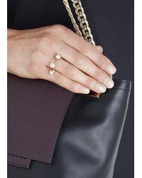 Smith/grey | Metallic The Whisper White Pearl Ring | Lyst