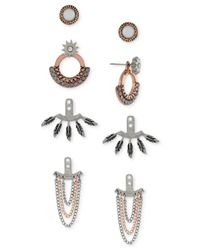 BCBGeneration | Metallic Gold-tone Boho-style Earring Jacket Kit | Lyst