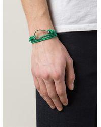 Miansai | Green Fish Hook Bracelet for Men | Lyst