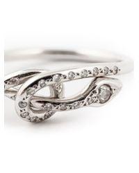 Ileana Makri - Metallic Python Ring - Lyst