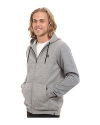 Hurley - White Getaway Fleece Zip for Men - Lyst