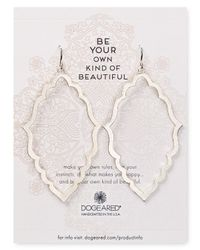Dogeared - Metallic Be Your Own Kind Of Beautiful Moroccan Earrings - Lyst