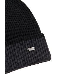 BOSS Black Hat In New Wool: 'esos' for men