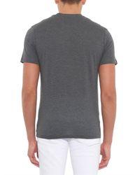 Sunspel | Gray Contrast-Pocket Jersey T-Shirt for Men | Lyst