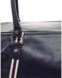 Ben Sherman | Black Barrel Bag for Men | Lyst
