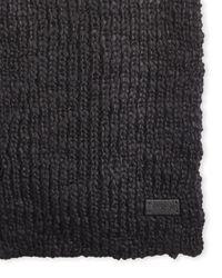 John Varvatos | Black Knit Scarf for Men | Lyst