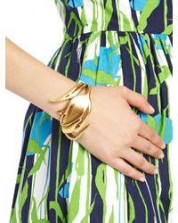 Oscar de la Renta | Metallic Delicate Tulip Bracelet | Lyst