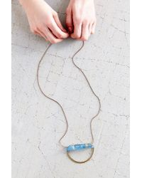 Urban Outfitters - Blue Traces Of The Nile Necklace - Lyst