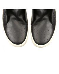 Rick Owens | Island Dunk Leather Hi-tops Black for Men | Lyst