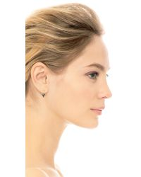 Katie Diamond - Metallic Bea Earrings - Lyst