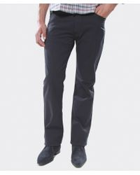 Armani Jeans - Blue J31 Regular Fit Gabardine Jeans for Men - Lyst