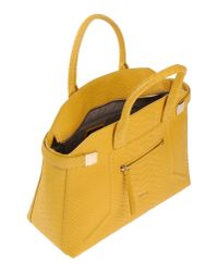 Furla - Yellow Handbag - Lyst