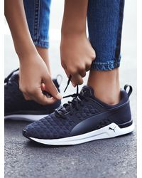 Free People | Black Puma Womens Pulse Xt 3d Trainer | Lyst