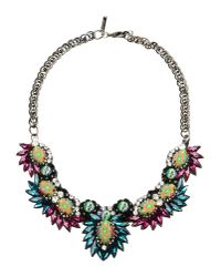 Deepa Gurnani | Blue Necklace | Lyst