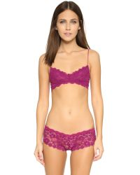 Honeydew Intimates | Purple Camellia Lace Hipster Panties | Lyst