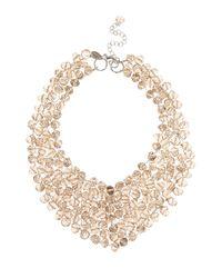Coast | Metallic Bella Necklace | Lyst