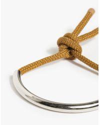 Maslo Jewelry | Metallic Silver Age Bracelet | Lyst