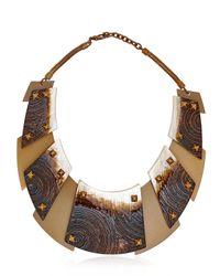 Caterina Zangrando | Brown Apple Necklace | Lyst