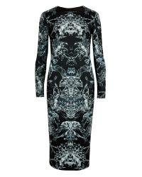 Ted Baker Berila Evergreen Print Midi Dress