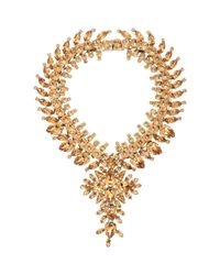 Givenchy | Metallic Strass Crystal Collar Necklace-colorless | Lyst