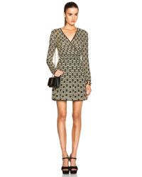 M Missoni Metallic Bi Color Lurex Dress