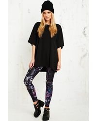 Urban Outfitters Purple Front Row Society Stone Cold Leggings